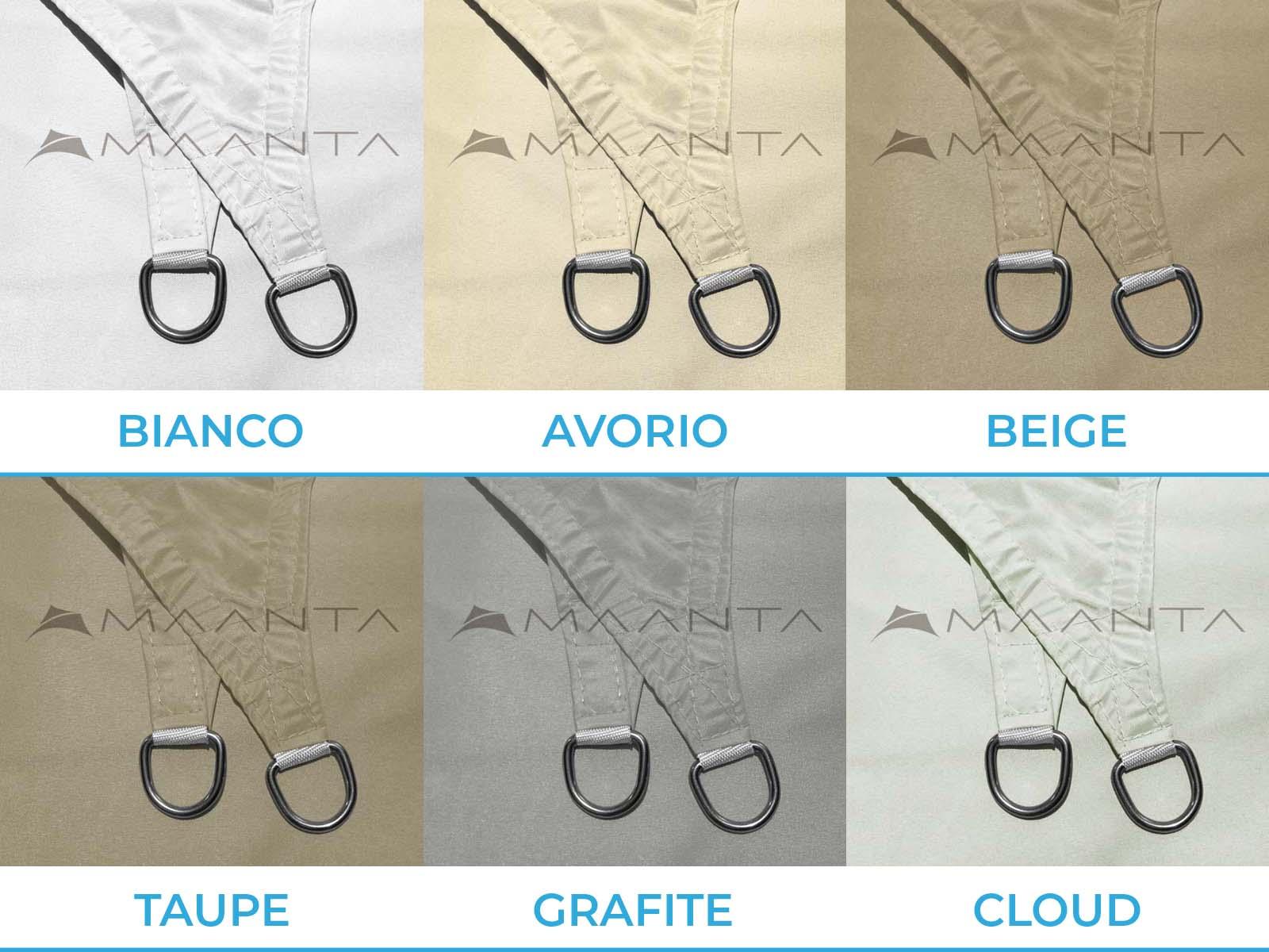 Kroužky EasyShade V2 z nerezové oceli